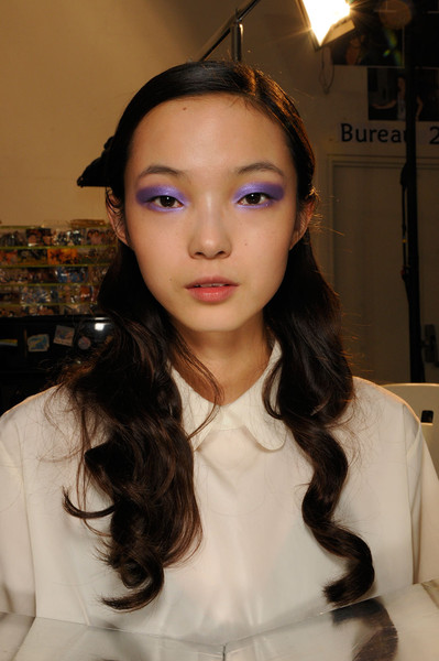 Cacharel at Paris Spring 2012 (Backstage)
