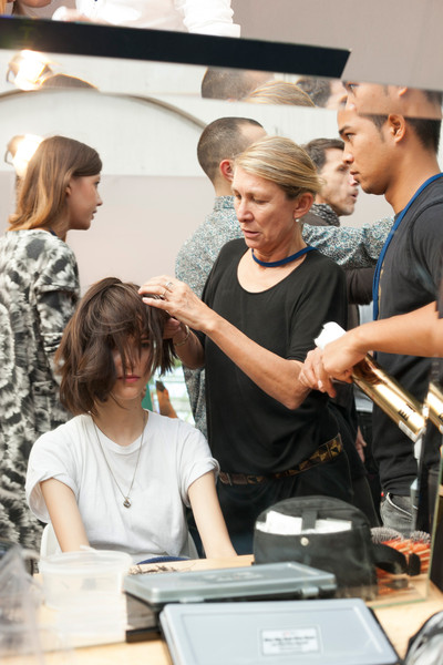 Cacharel at Paris Spring 2013 (Backstage)