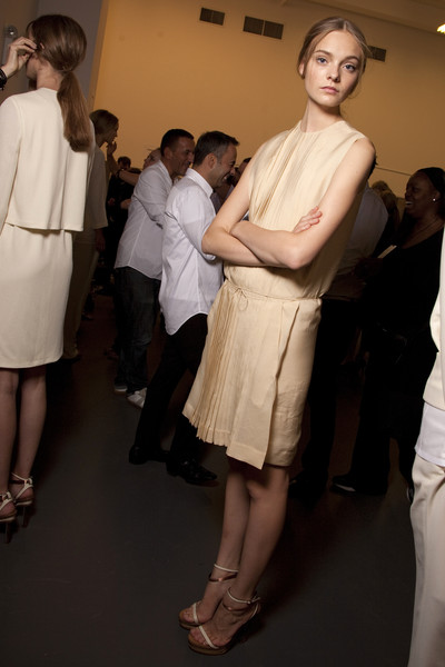 Calvin Klein at New York Spring 2011 (Backstage)