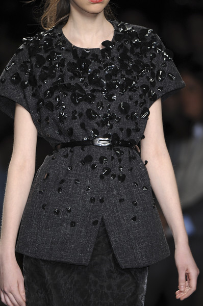 Carla Carini at Milan Fall 2009 (Details)