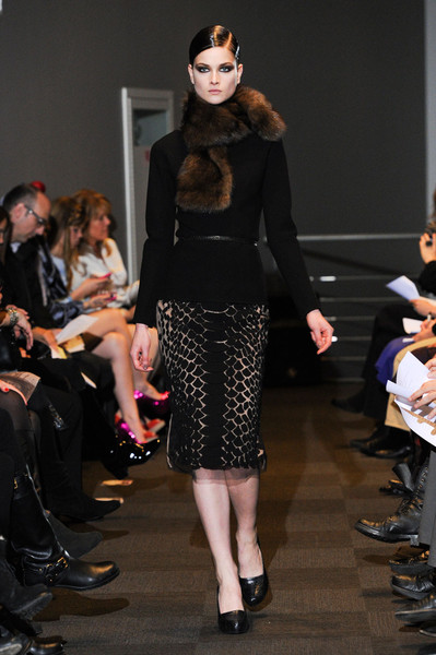 Carmen Marc Valvo at New York Fall 2012