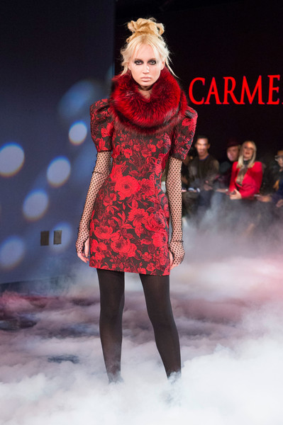 Carmen Marc Valvo at New York Fall 2018