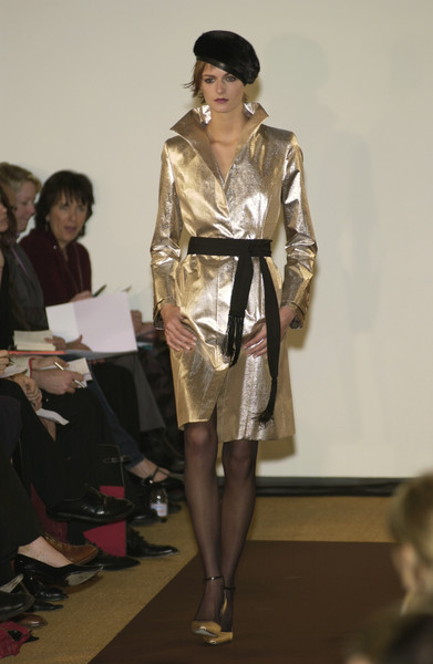 Carolina Herrera at New York Fall 2002