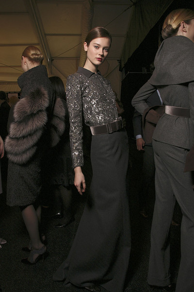 Carolina Herrera at New York Fall 2011 (Backstage)