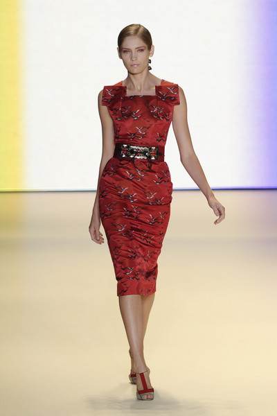 Carolina Herrera at New York Spring 2011