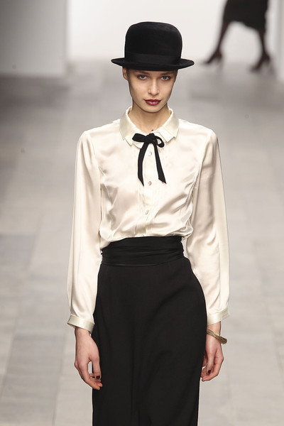 Caroline Charles at London Fall 2011