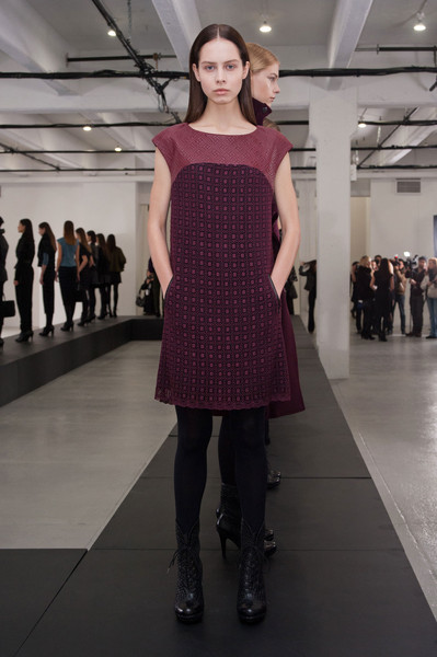 Catherine Malandrino at New York Fall 2013