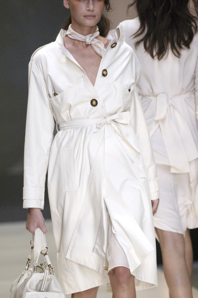Céline at Paris Spring 2006 (Details) [fashion model,clothing,trench coat,white,coat,fashion,outerwear,overcoat,fashion design,duster,supermodel,trench coat,fashion,coat,overcoat,coat,model,haute couture,paris fashion week,fashion show,trench coat,fashion show,overcoat,fashion,model,haute couture,supermodel,coat,runway,white coat]