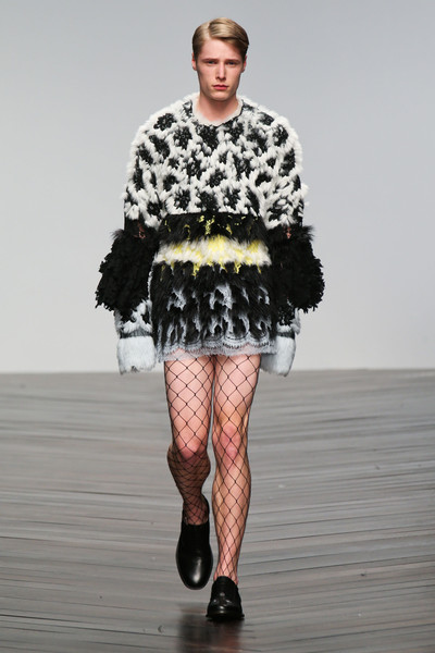 Central Saint Martins MA - Elena Crehan at London Fall 2013