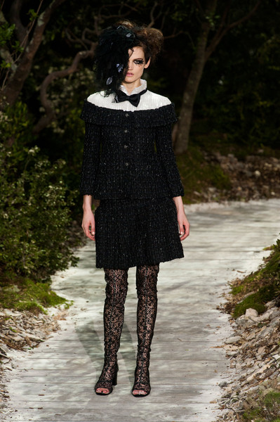 Chanel at Couture Spring 2013