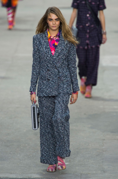 Chanel at Paris Spring 2015 [fashion,clothing,fashion show,street fashion,runway,fashion model,suit,pantsuit,footwear,outerwear,coco chanel,fashion,runway,fashion week,street fashion,spring,fashion model,chanel,paris fashion week,fashion show,coco chanel,chanel,paris fashion week,fashion,fashion show,runway,fashion week,ready-to-wear,spring]