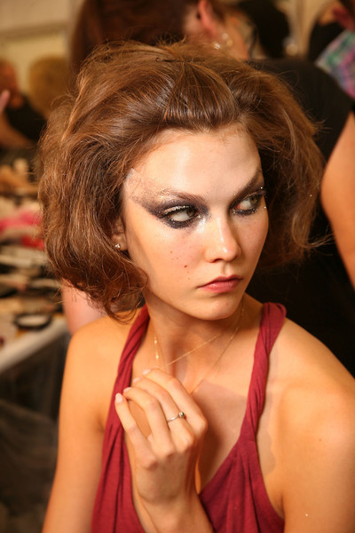 Christian Dior at Couture Fall 2011 (Backstage)