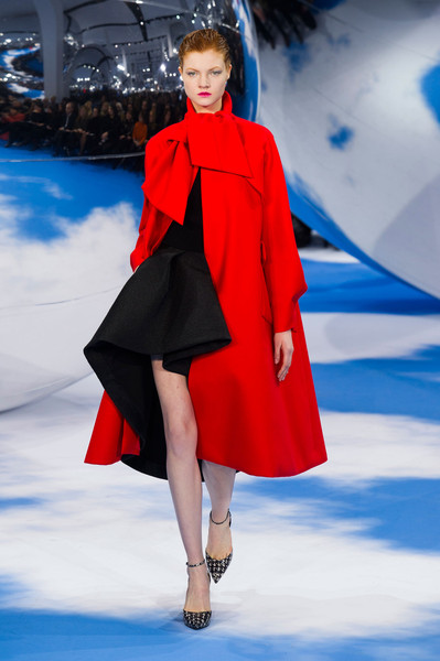 Christian Dior at Paris Fall 2013