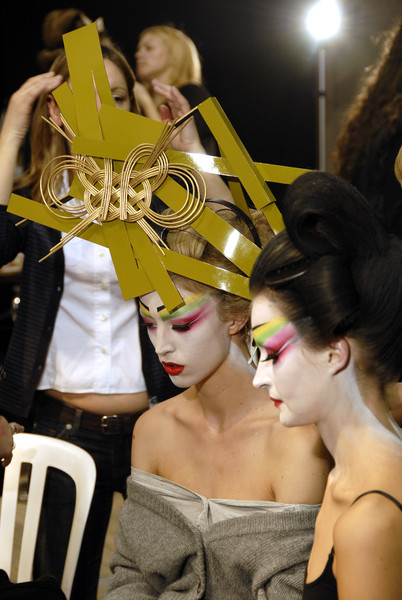 Christian Dior at Couture Spring 2007 (Backstage)