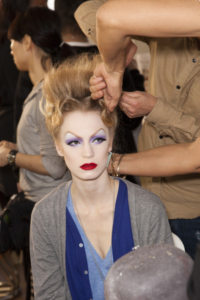 Christian Dior at Couture Spring 2010 (Backstage)