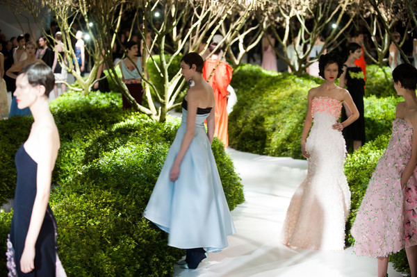Christian Dior at Couture Spring 2013
