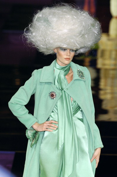 Christian Lacroix at Couture Fall 2004