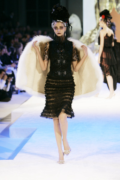Christian Lacroix at Couture Fall 2005