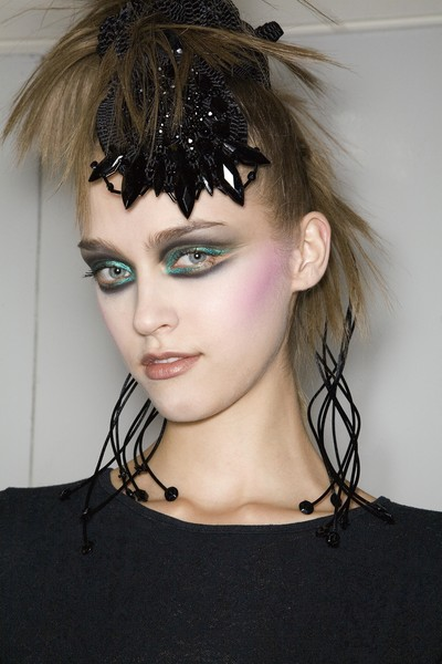 Christian Lacroix at Couture Fall 2008 (Details) [hair,face,hairstyle,eyebrow,lip,chin,fashion,beauty,forehead,black hair,couture fall,hair,hair,fashion,brown hair,haute couture,punk rock,bangs,lip,black hair,bangs,hair m,haute couture,brown hair,long hair,fashion,hair,punk rock,brown,christian lacroix]