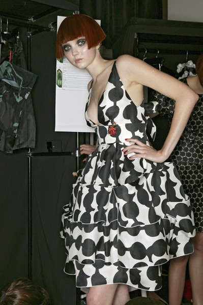 Christian Lacroix at Paris Spring 2007 (Backstage)