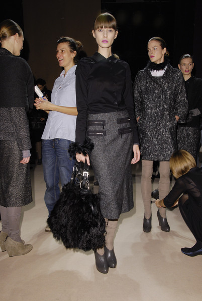 Cividini at Milan Fall 2008 (Backstage)