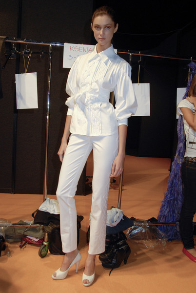 Clips at Milan Spring 2008 (Backstage)