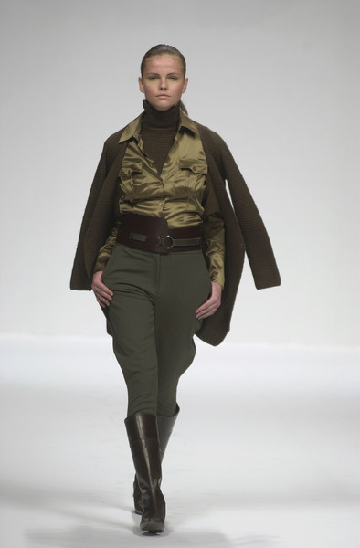 Coccapani at Milan Fall 2001