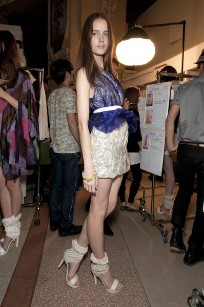 Commuun at Paris Spring 2011 (Backstage)