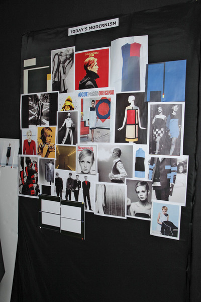 Costume National at Paris Fall 2011 (Backstage)