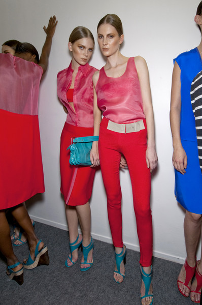 Costume National at Paris Spring 2011 (Backstage)