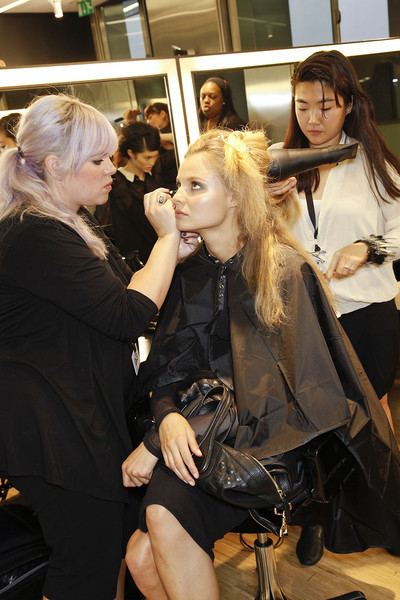 D&G at Milan Spring 2012 (Backstage)