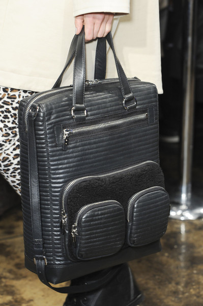 DKNY at New York Fall 2013 (Details) [bag,baggage,hand luggage,handbag,luggage and bags,fashion accessory,leather,satchel,backpack,material property,handbag,bag,hand luggage,baggage,leather,fashion,brand,product,new york fashion week,dkny,handbag,baggage,hand luggage,leather,fashion,brand,product]