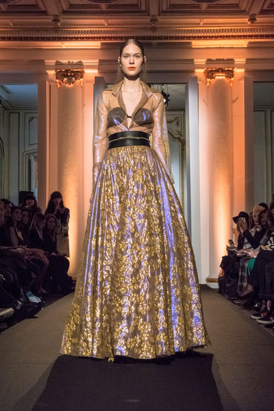 Dany Atrache at Couture Spring 2015 [couture spring 2015,fashion model,fashion,haute couture,clothing,fashion show,dress,runway,gown,fashion design,yellow,dany atrache,supermodel,fashion,runway,fashion week,haute couture,model,fashion model,fashion show,fashion show,fashion week,haute couture,fashion,runway,paris fashion week,model,supermodel,beiruting.com]