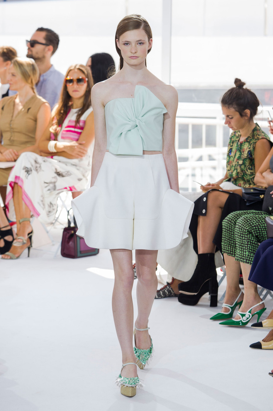 Street Style from New York Fashion Week: All Worship Delpozo