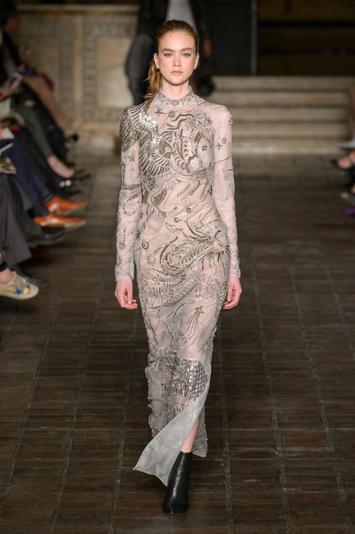 Dennis Basso at New York Fashion Week Fall 2018