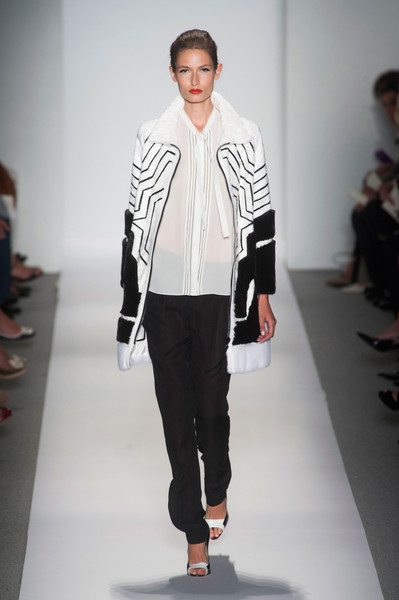 Dennis Basso at New York Spring 2014