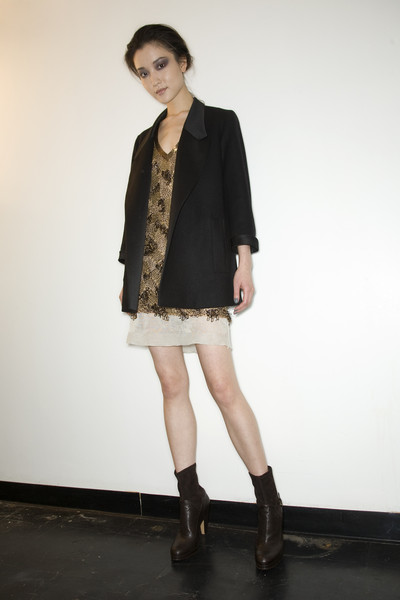 Derek Lam at New York Fall 2009 (Backstage)
