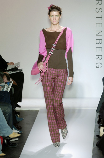 Diane von Furstenberg at New York Fall 2004