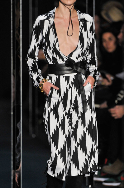 Diane von Furstenberg at New York Fall 2011 (Details)