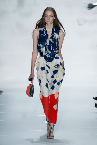 Diane von Furstenberg at New York Spring 2013