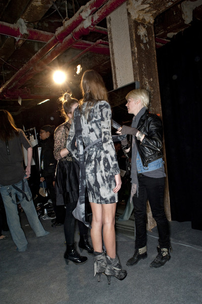 Diesel Black Gold at New York Fall 2010 (Backstage)