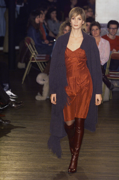 Dirk Bikkembergs at Paris Fall 2001
