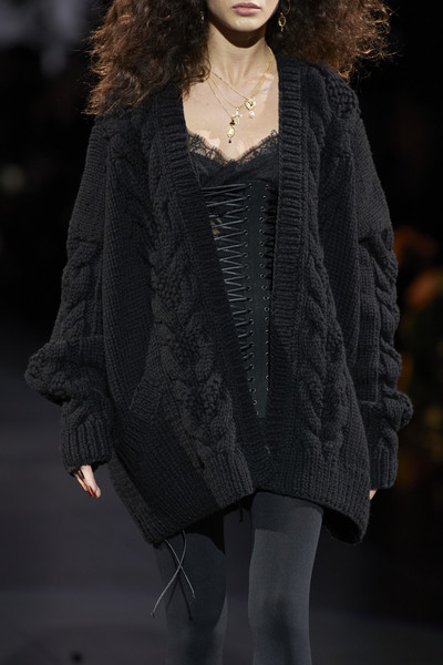 Dolce & Gabbana at Milan Fall 2020 (Details) [clothing,fashion,fashion model,fashion show,runway,outerwear,beauty,fur,human,fashion design,socialite,supermodel,fashion,runway,model,woolen,wool,haute couture,milan fashion week,fashion show,runway,fashion show,model,supermodel,fashion,haute couture,socialite,woolen,wool]
