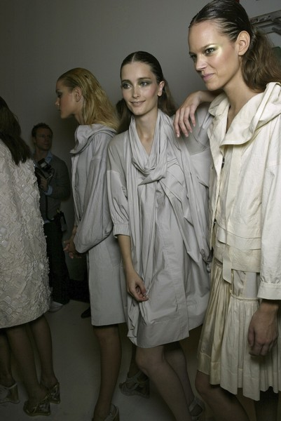 Donna Karan at New York Spring 2007 (Backstage)