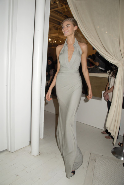 Donna Karan at New York Spring 2008 (Backstage)