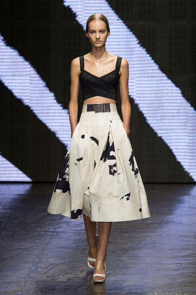 Donna Karan at New York Spring 2015