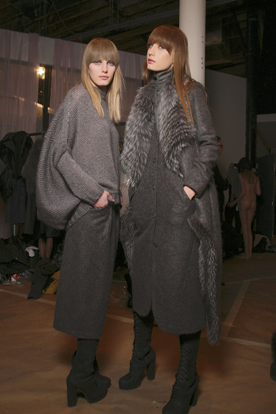 Doo.Ri at New York Fall 2011 (Backstage)