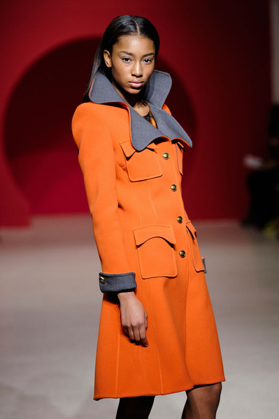 Douglas Hannant Pink Collection at New York Fall 2012