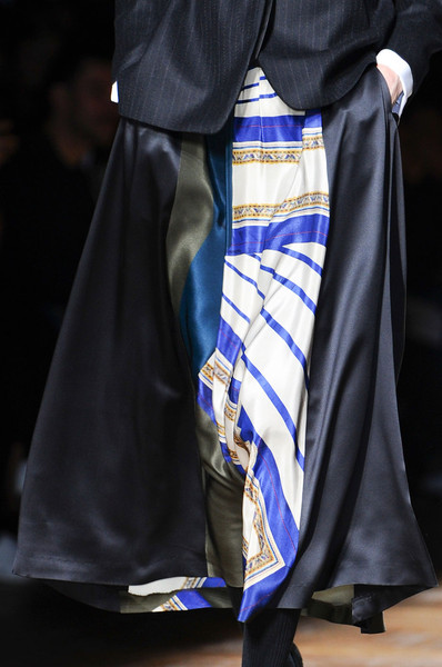 Dries Van Noten at Paris Fall 2012 (Details)