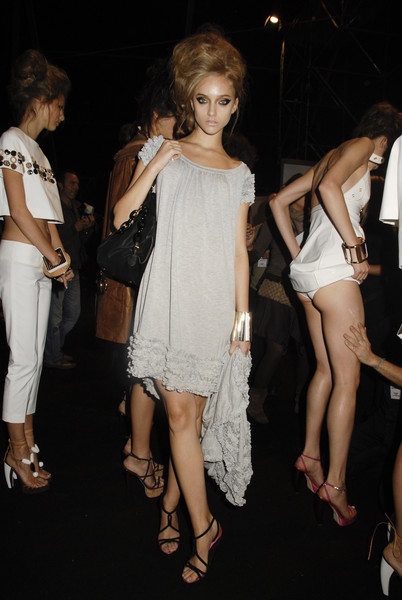 Dsquared² at Milan Spring 2008 (Backstage)